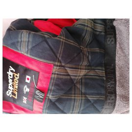 Superdry-Jackets-Red
