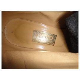 Kenzo-Kenzo p boots 37-Black