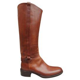 Sartore-Sartore p riding boots 36,5-Light brown