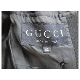 Gucci-Gucci t mid-season coat 38-Black