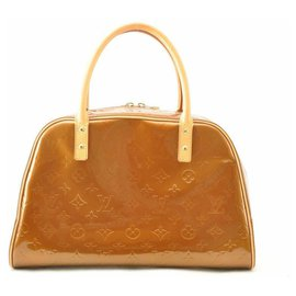 Louis Vuitton-Louis Vuitton Vernis Tompkins Square Bronze-Brown