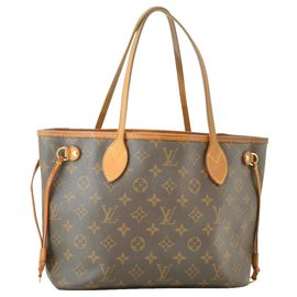 Louis Vuitton-Louis Vuitton Neverfull PM-Brown