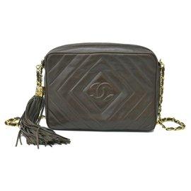 Chanel-Sac bandoulière Chanel Chain-Marron