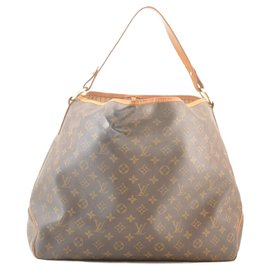 Louis Vuitton-Louis Vuitton Monogram Delightful GM-Brown