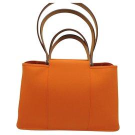 Hermès-HERMES SAC CABAG ELAN-Orange