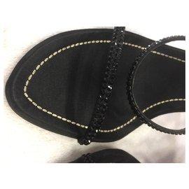 Rene Caovilla-Heels-Black
