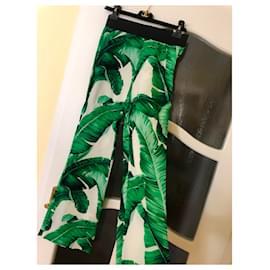 Dolce & Gabbana-Un pantalon, leggings-Multicolore