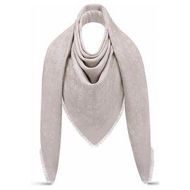 Louis Vuitton-Châle Louis Vuitton Monogram-Beige