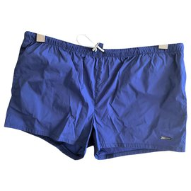 Dsquared2-Dsquared2 NEW MEN'S SWIM STRETCH TRUNKS-Navy blue