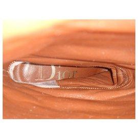 Dior-bottes à talons Dior p 36,5-Marron clair