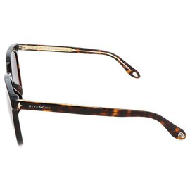 Givenchy-Des lunettes de soleil-Marron,Multicolore,Doré
