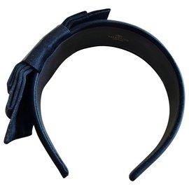 Valentino Garavani-hairband-Noir