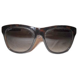 Gucci-GUCCI lunettes soleil Bio Based-Marron