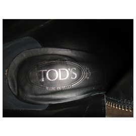 Tod's-Tod's p boots 40-Black