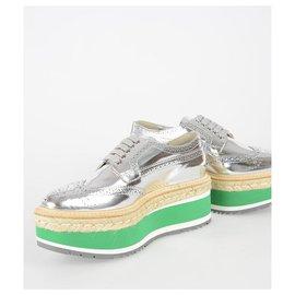 Prada-Prada shoes new-Silvery