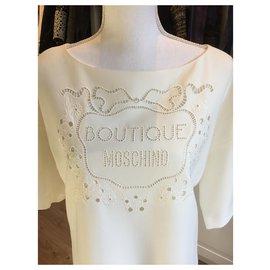 Moschino-Dresses-White