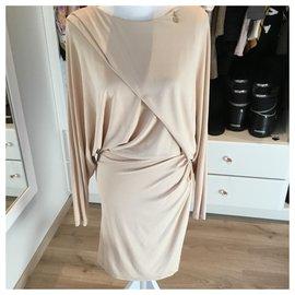 Elisabetta Franchi-Dresses-Pink