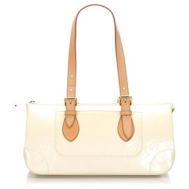 Louis Vuitton-Louis Vuitton Palissandre Vernis Blanc-Blanc