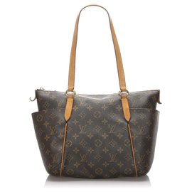 Louis Vuitton-Louis Vuitton Brown Monogram Totally PM-Marron
