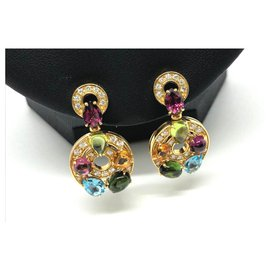 Bulgari-Bulgari Astrale earrings-Golden