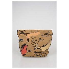 Dior-Sac à main Dior Bucket Canvas New-Marron