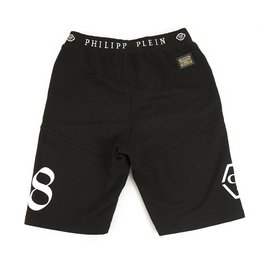 Philipp Plein-Philpp Plein Junior Shorts Boxer Bermuda Black and White for Boys 14 years old or XS men-Black,White