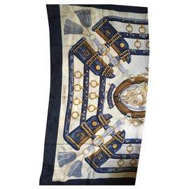 Hermès-Square Hermes-Blue