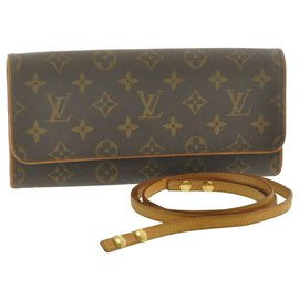 Louis Vuitton-Louis Vuitton Pochette twin-Marron