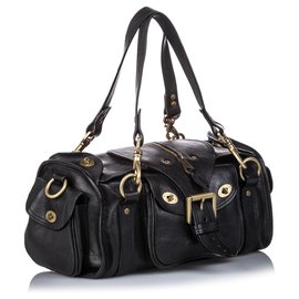 Mulberry-Mulberry Black Leather Shoulder Bag-Black