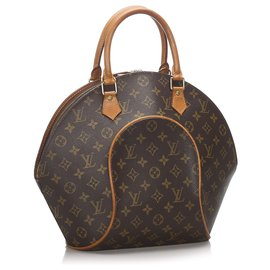 Louis Vuitton-Ellipse Monogram Brown Louis Vuitton MM-Marron