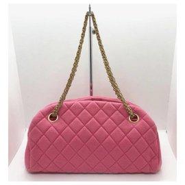 Chanel-Sac bandoulière Chanel Mademoiselle rose-Rose