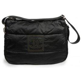 Chanel-Cabas Besace-Noir