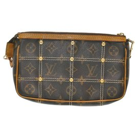 Louis Vuitton-Louis Vuitton Pochette Accessoire-Marron