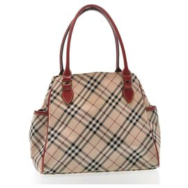 Burberry-Burberry Hand Bag-Red