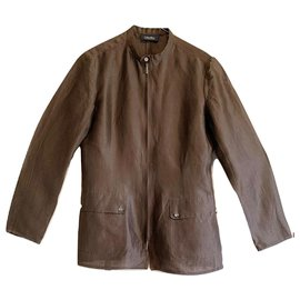 Max Mara-Saharian jacket-Brown