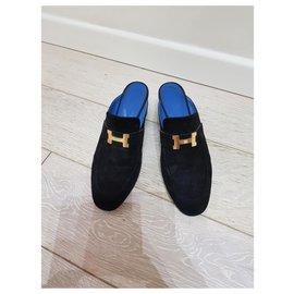 Hermès-Hermes Mules-Black