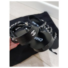 Chanel-Chanel sandali-Noir