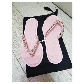 Chanel-Chanel sandali-Rose