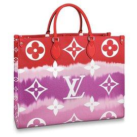 Louis Vuitton-Louis Vuitton OntheGo-Vermelho