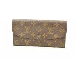 Louis Vuitton-Louis Vuitton Monogram Portefeuille Emilie-Green