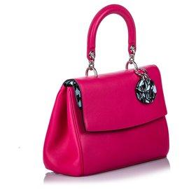 Dior-Rabat Be Dior en cuir rose Dior-Rose