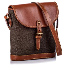Mulberry-Mulberry Brown Leather Crossbody Bag-Brown,Dark brown