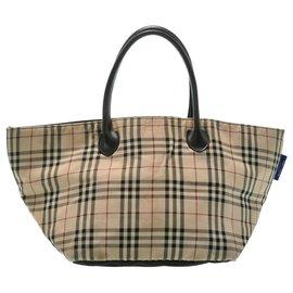 Burberry-Burberry Hand Bag-Beige