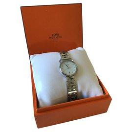 Hermès-Arceau watch from Hermès-Silvery