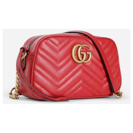 Gucci-Sac Marmont neuf-Rouge