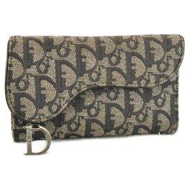 Dior-Dior Trotter Wallet-Blue