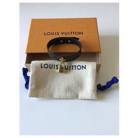 Louis Vuitton-Superbe bracelet Louis Vuitton neuf avec cadenas-Marron