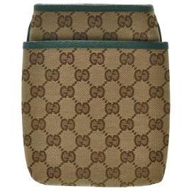 Gucci-Gucci GG Canvas Sac à bandoulière-Autre