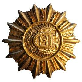 Chanel-Pins & Broschen-Golden