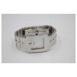 Hermès-Hermès Belt watch Belt with the steel bracelet.-Argenté